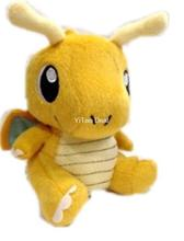 Free shipping Dragonite Doll Around 16cm 6 Plush Toy