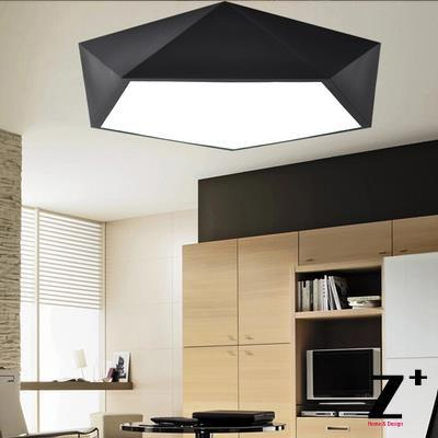 led lights Dimmable System with Remote Control Color temperature adjustable Geometric shape Diamond shape Modern Ceilling lamp