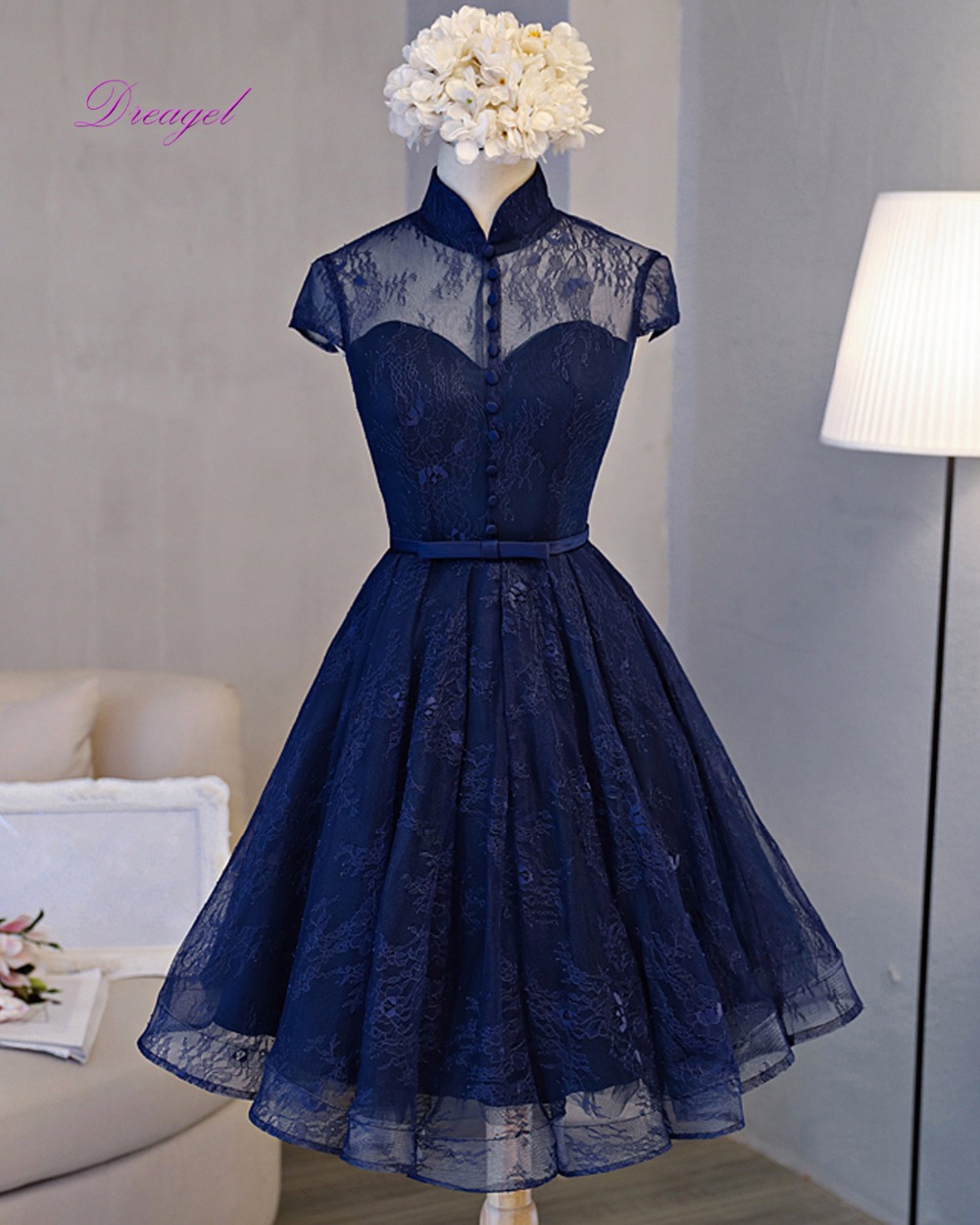 Online Get Cheap Vintage Dresses Homecoming -Aliexpress.com ...