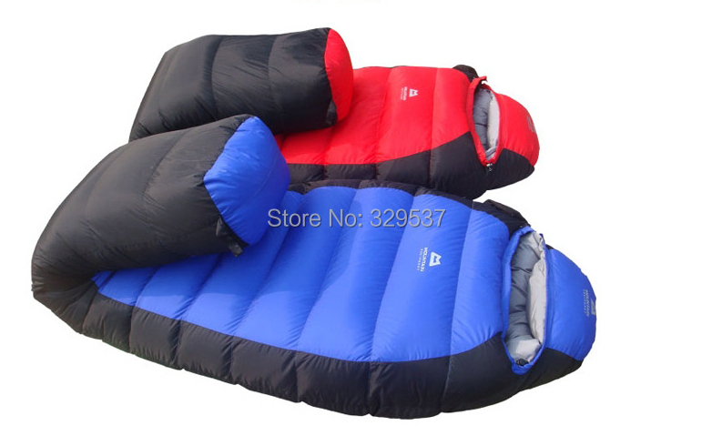 New Style 2.2kg Winter Outdoor Down Sleeping Bag Mummy Type Duck Down(1.5kg) Winter Thickening Sleeping Bag  25 Degree-in Sleeping Bags from Sports & Entertainment    1