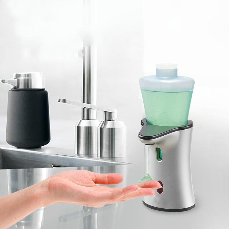 Soap Dispenser Toilet counter type hand sanitizer bottle European toilet automatic induction soap dispenser kitchen