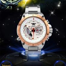 2015 New watch Men Date Day Stainless Steel watches Relojes masculino Hours Clock Men military Quartz