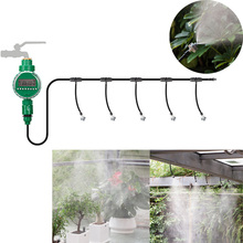 Automatic Micro Drip Irrigation System Atomizing Sprinkler Cooling Spray Micro Sprinkler Watering Kits Gardening Watering Device automatic micro drip irrigation system atomizing sprinkler cooling spray micro sprinkler watering kits gardening watering device