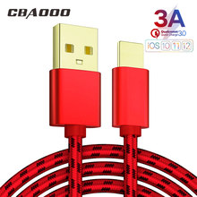 2/1PCS 3A 3M USB Cable For iPhone XS Max XR X 8 7 6 6s Plus 5 5S SE iPad Pro Fast Charging Charger Data Cord Mobile Phone Cables(China)