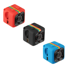 Красочные мини-видеокамеры 480 P/1080 P спортивная DV камера Мини Спорт DV инфракрасная камера ночного видения автомобиля DV Цифровая видеокамера