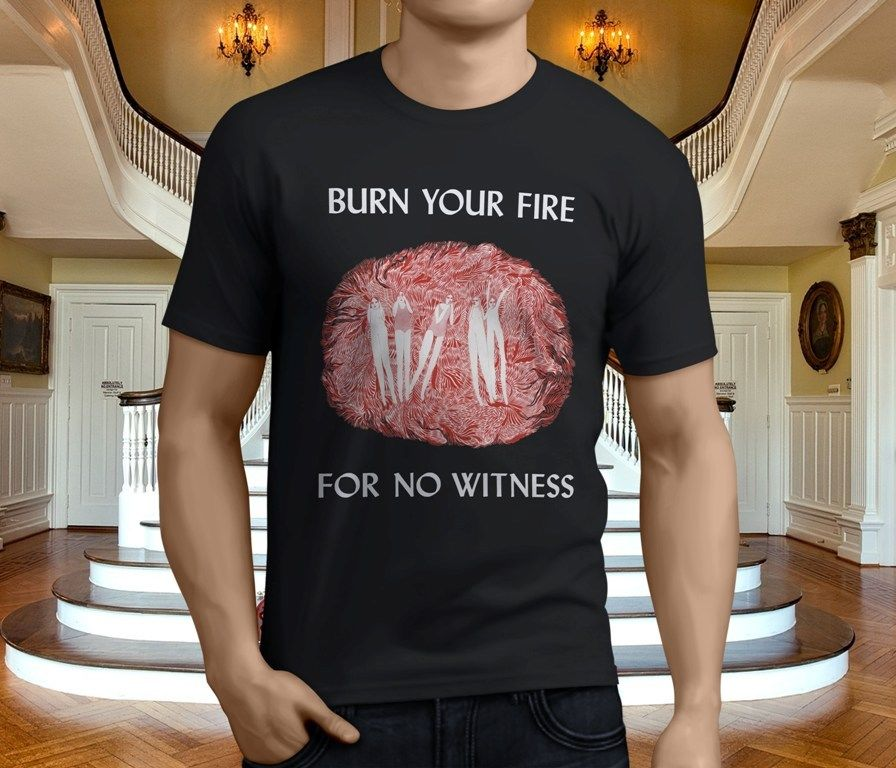 New Angel Olsen Burn Your Fire for No Witness Mens Black T-Shirt Size S-3XL Sleeve Men T Shirt Fashion 2018 Latest