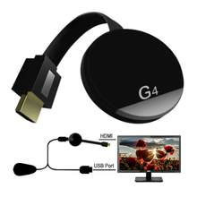 G4 TV Stick Smart TV Dongle voor Android Netflix Miracast WiFi HDMI Adapter Draadloze TV Display Dongle Media Streamer TV stok(China)