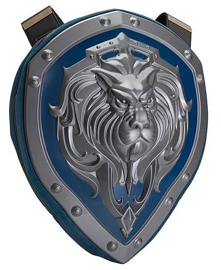 3d Best Lion Cosplay WOW World Of Warcraft Tribes  Hard Shield Backpack Bag Student Bag Computer Bag Gift