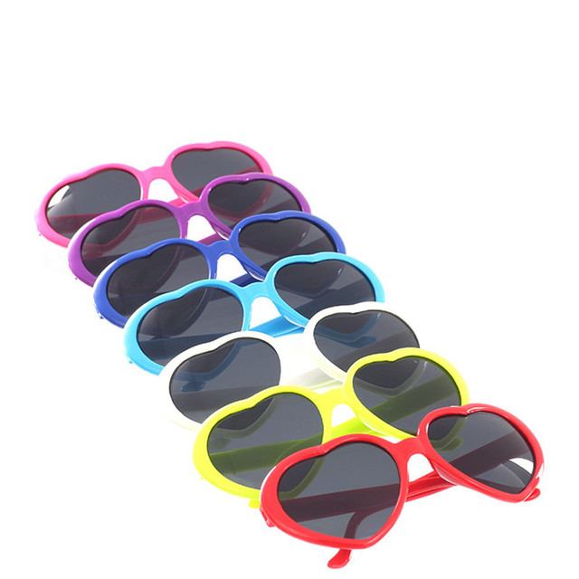 9c5ecb4a6bb 4Color choose Heart shaped glasses Red Yellow Pink White glasses sunglasses  sunglasses love Accessories Super Cool Sunglasses