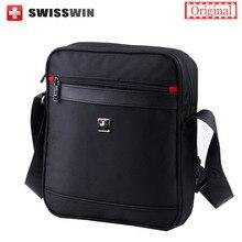 Suisse Hommes Messenger Épaule Sac bandoulière Étanche Épaule sac Oxford Zipper Sac Hommes de Marque Sacs de Voyage