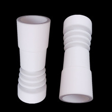 Domeless Female Ceramic Nail Universal Fits 14mm 18mm Joint Size Ceramic Nails free shipping 18mm ceramic