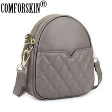 COMFORSKIN New Arrivals Girls Geometric Mobile Bag 2019 High Quality Woman Messenger Hot Brand Preppy Style Cross-body