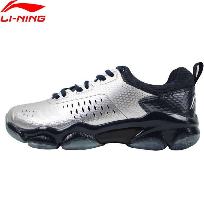 Li Ning Men SONIC BOOM Badminton Shoes Wearable Anti Slippery LiNing Breathable Sport Shoes Sneakers AYZN009