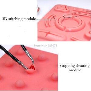 Image 2 - 1Set Laparoscopic surgery training module, suture, shear, peel, clip, traction and perforation module