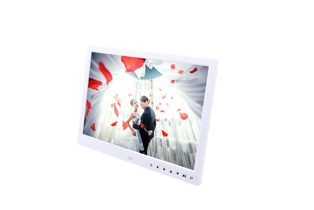 Volemer new Digital Frame 13 inch high definition Touch button electronic photo album video advertising machine digital brochure (19)