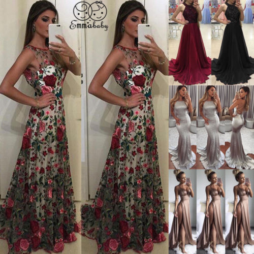 Women   Dress   Formal Party   Prom   Ball Gown   Dresses
