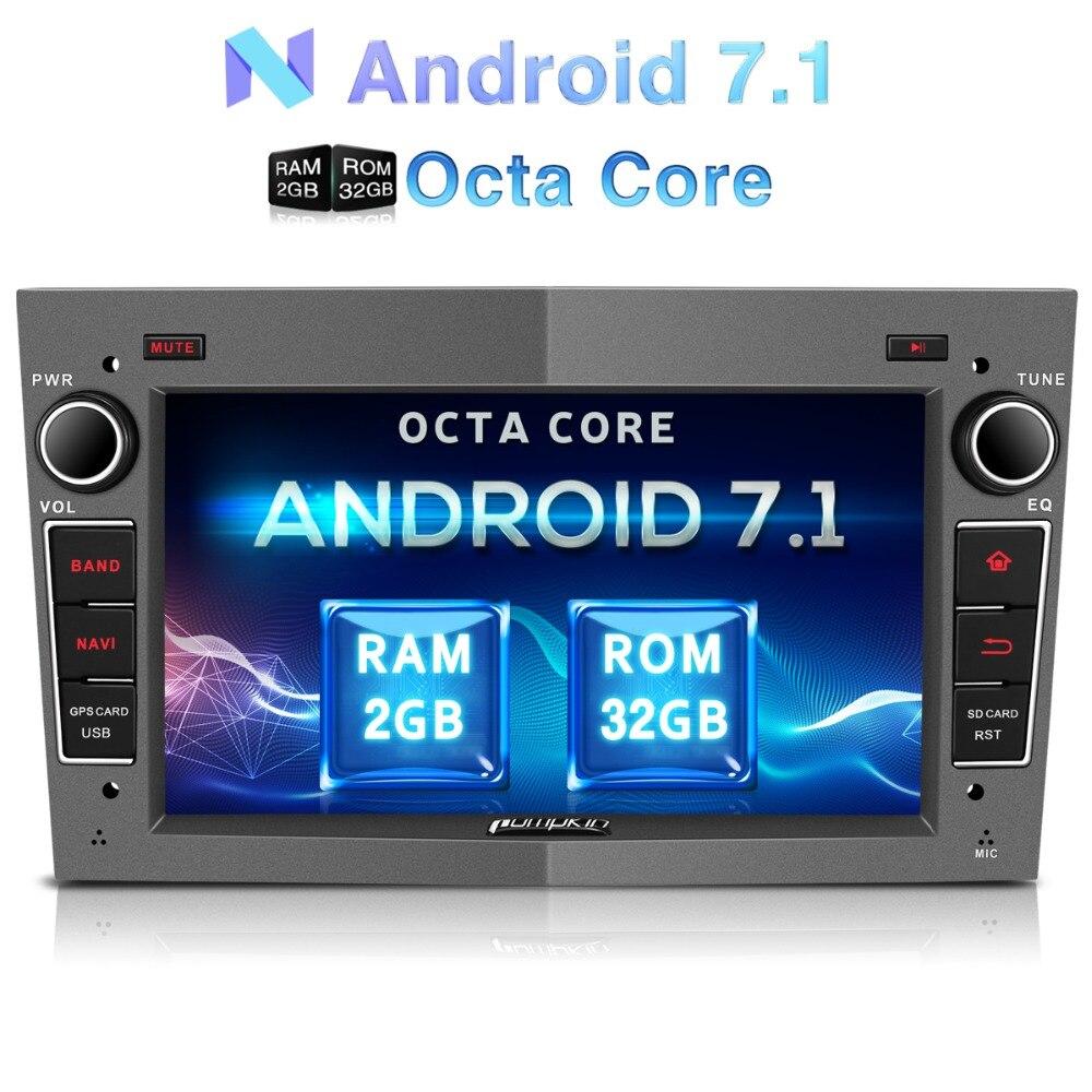 Zucca 2 Din Android 7.1 Car Multimedia No Lettore DVD di Navigazione GPS Per Auto Bluetooth Stereo Per Opel/Corsa Wifi FM Radio Headunit