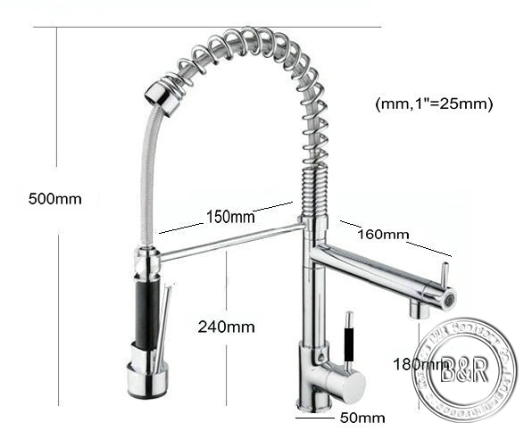 ᐅbecola Kitchen Faucet Sink Mixer Tap Copper Wash Mixers Tap Pull