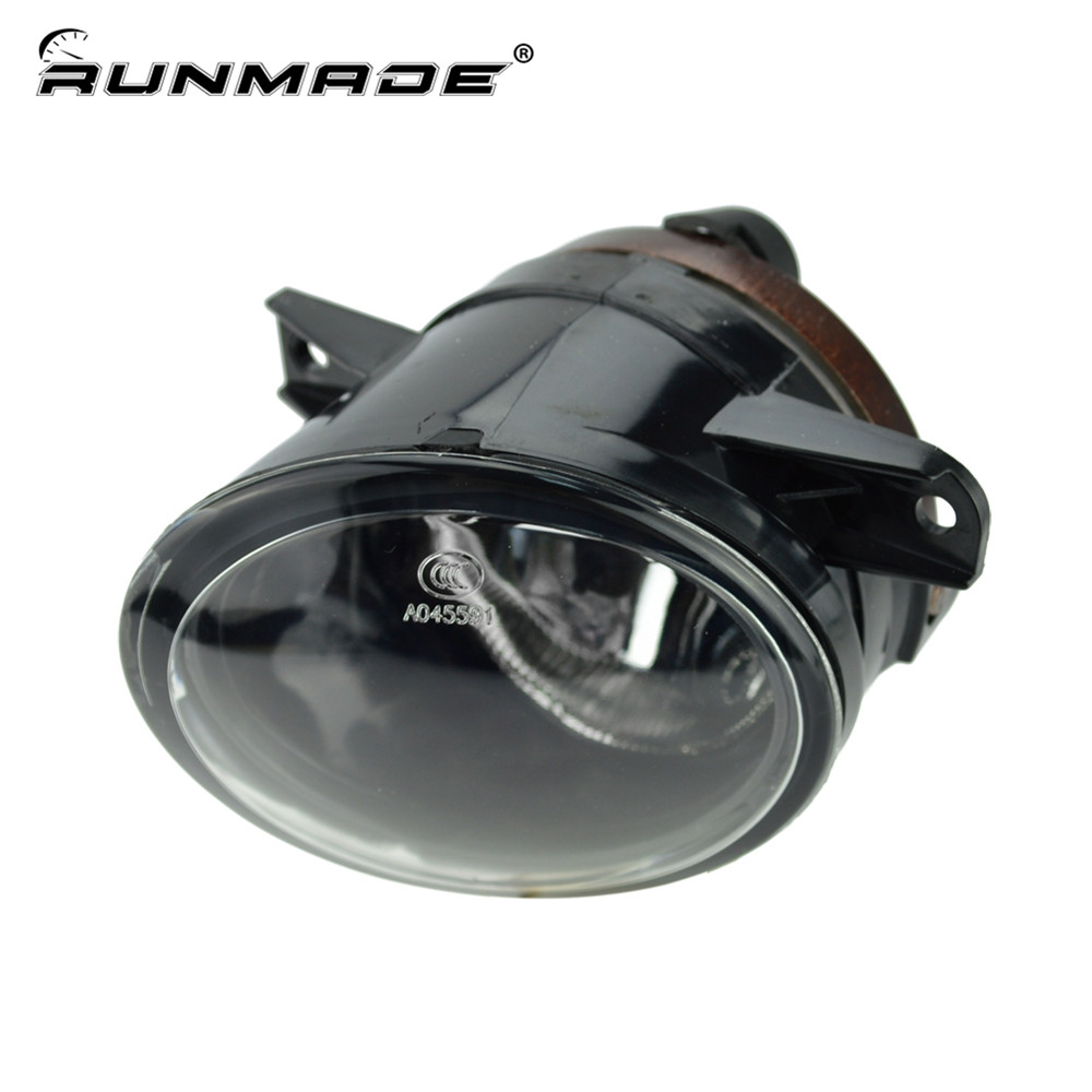 runmade For VW 2010 2011 2012 Tiguan Clear Lens Bumper Fog Driving Light Left Side 5ND 941 699 runmade 1pair fog lights for 2006 2010 vw passat b6 3c clear lens front fog lamp driving lamp left