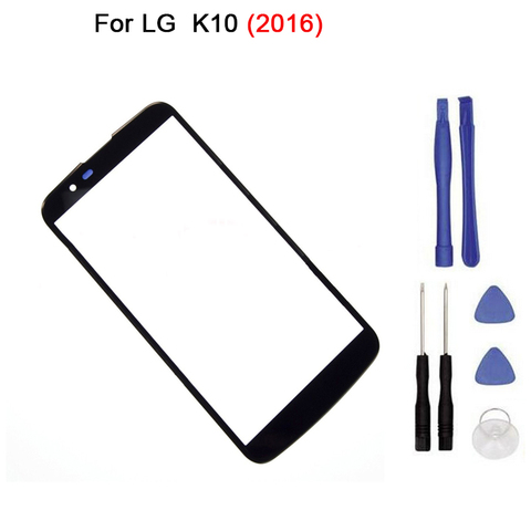 """New Touch screen For LG  K10 K430DS K430N Front Glass 5.3"""" touch Screen Digitizer Front Glass Touch Panel Replacement + tool Pakistan"""