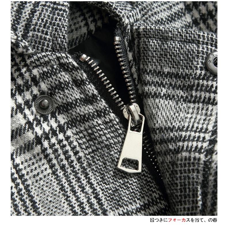 Male Long Coat Oversize Lapel Button Sobretodos Hombre Overcoat Streetwear (16)