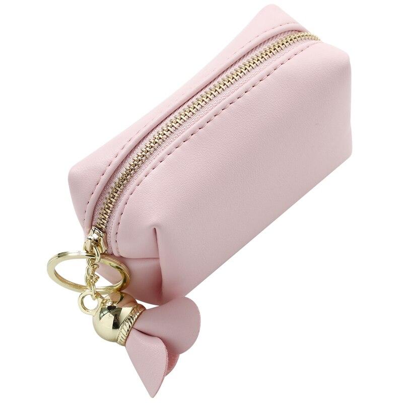 Women Money Bags Lady Coin Purse Pocket Girls Cards Keys Bag Short PU Leather Woman Flower Wallet Moneybags Burse Notecase Pouch