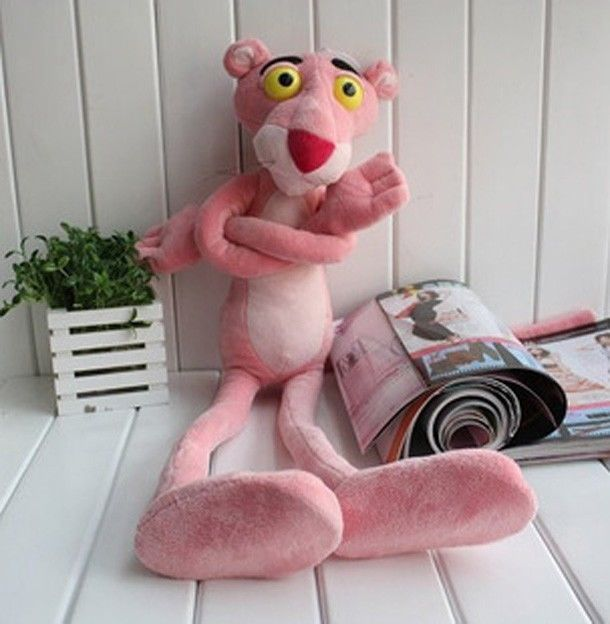 Cute Pink Panther Stuffed Animals Baby Kids Boys Girls Toys Plush Doll Children Plaything Gift Plush Toys disney baby winnie the pooh mickey mouse minnie doll baby boys girls stuffed birthday christmas gift for children plush toys