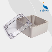 120*120*75mm 2013 Hot sale ip66  plastic boxes for electronics with clear lid DS-AT-1212-S
