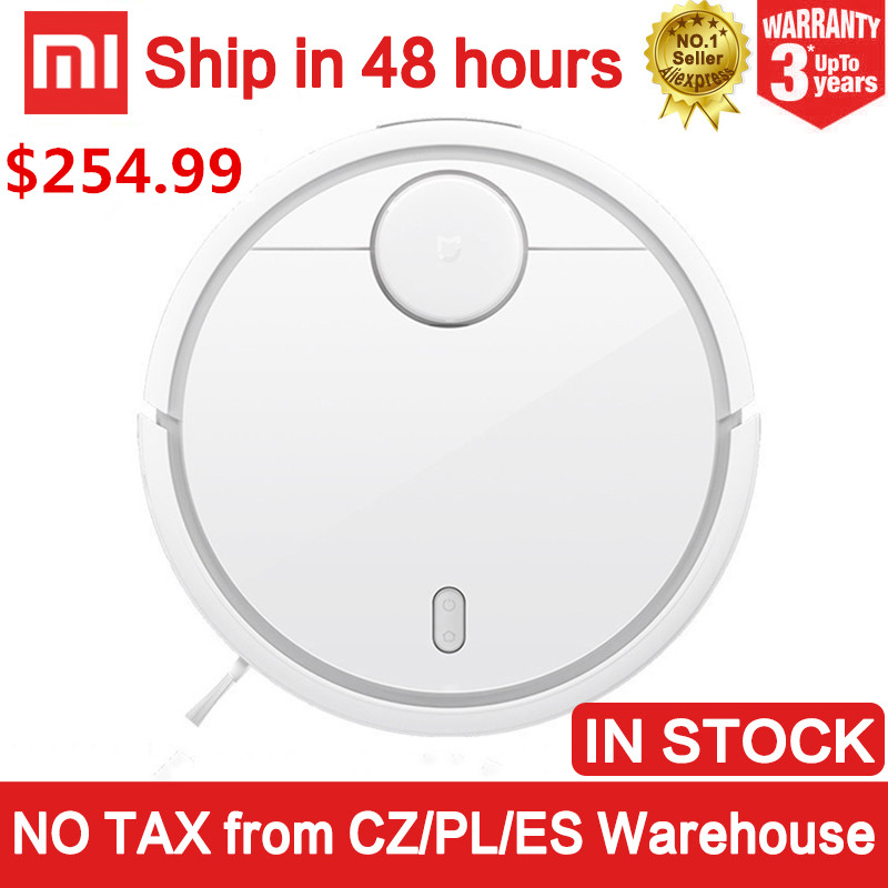 EU version Xiaomi robot vacuum cleaner Smart Plan type Robotic with Wifi App and Auto Charge