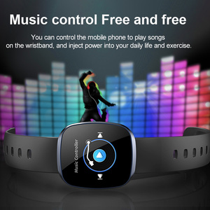 Image 5 - Women Smart Watch Sport Fitness Tracker Heart Rate Monitor Smartwatch Bluetooth Music Control Waterproof Watch For Android
