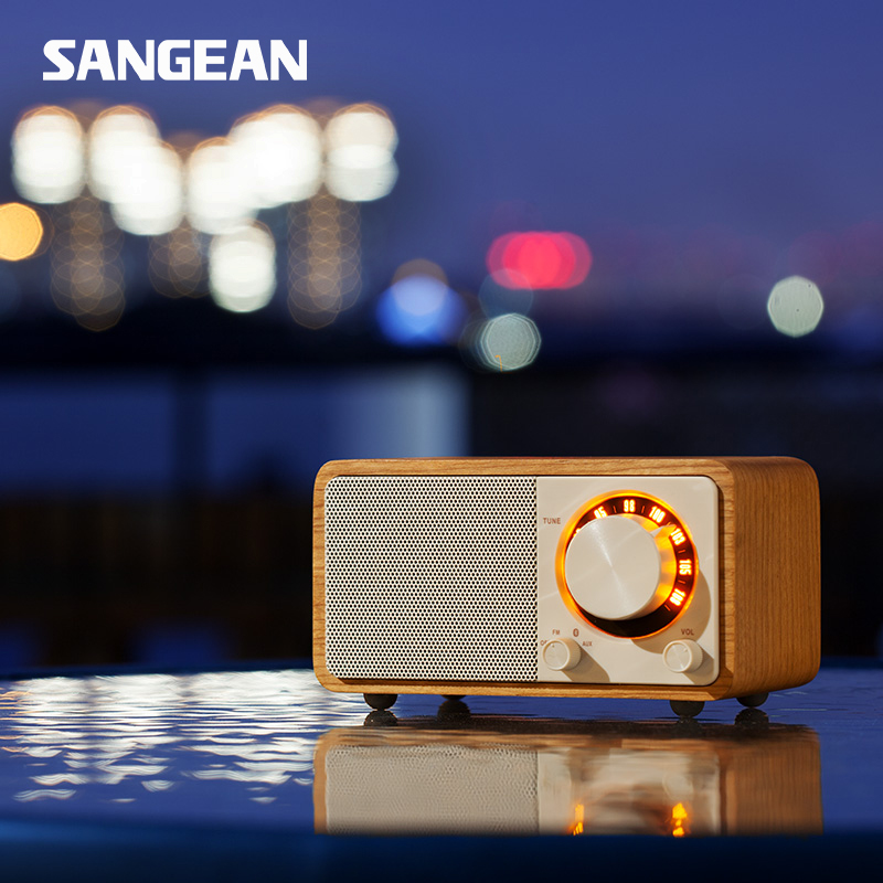 Sangean PURE bluetooth speaker mini radio speaker Bluetooth speaker radio fm portable radio все цены