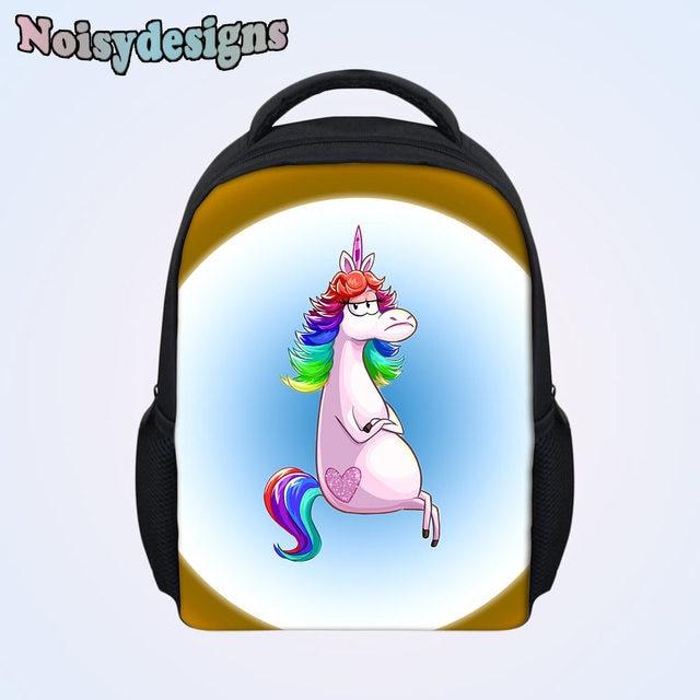 3D Unicorn Cartoon Printed School Bags for Kindergarten Kids Baby Schoolbag  Children Book Bag Backpack Fashion fd687c4a66523