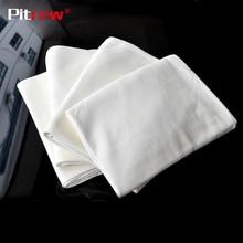 Pitrew полотенце из натуральной кожи Shammy губка ткань для автомобиля натуральная сушка замша Чистка овчины абсорбирующее полотенце для мытья автомобиля