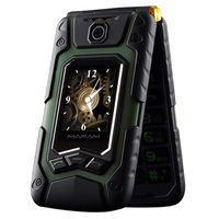 MAFAM Flip X9 Senior Mobile Phone For Elders Dual Display GPRS Touch Screen Handwriting Dual Sim FM Long Standby