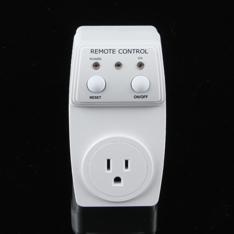 New1 3pcs Wireless Remote font b Controlled b font Socket Electrical Plugs Adaptors Support Manual and