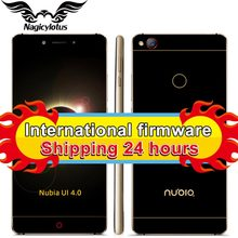 Original ZTE Nubia Z11 5 5 Borderless 4GB 6GB RAM 128GB 64GB ROM Mobile Phone Snapdragon