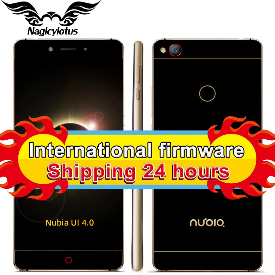 "Original ZTE Nubia Z11 5.5"" Borderless 4GB/6GB RAM 128GB/64GB ROM Mobile Phone Snapdragon 820 Quad Core 16.0MP Fingerprint NFC"