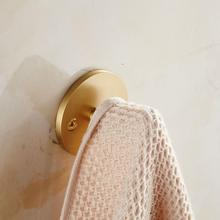 Heavy Duty Brass Home Kitchen Bathroom Durable Rustproof Hooks Wall Hanger Hanging Clothes Hat Towel Key Holder Hook