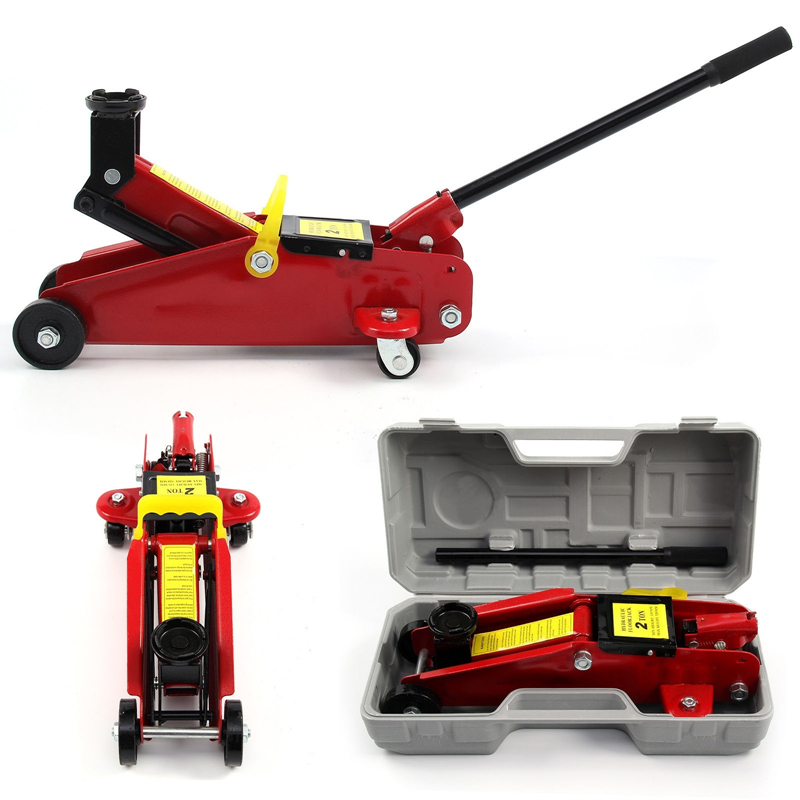 Hydraulic Jack 2 Ton Car Van DIY Home Mechanic The Height Of Lifting 135-300mm Hydraulic Lifting With Case