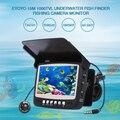 Eyoyo 4.3 ''LCD Vídeo Inventor Dos Peixes HD 1000TVL Luzes Controláveis Underwater Camera Kit Pesca Lago de Gelo Debaixo de Água de peixe câmera