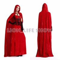 Adult Ladies Halloween Mardi Gras Costume Fairy Tale Little Red Riding Hood Cosplay Dress Outfit For