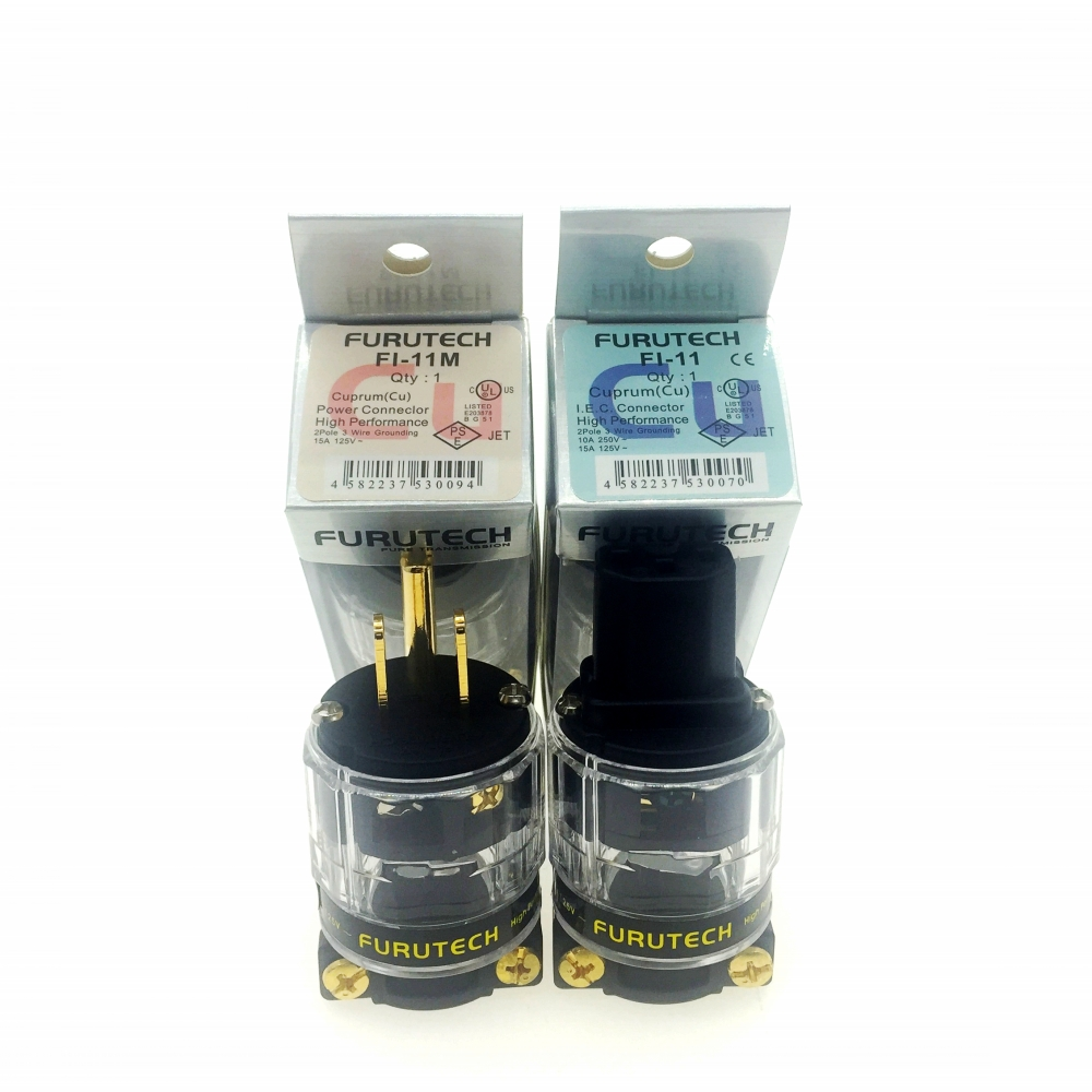 power Performance IEC Male Connector plug Cu Furutech FI-11M