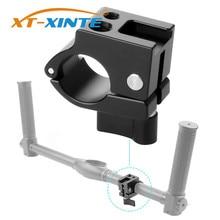 Aluminium Halterung Halter Clip 22mm 25mm Rod Clamp Monitor Montieren Kalt Schuh Adapter für DJI Ronin M/zhiyun Feiyu Gimbal Stabilisator