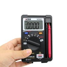 SNAKOL VC921 3 3/4 DMM Integrated Personal Mini Digital Multimeter Handheld Pocket capacitance resistance frequency tester