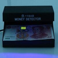 110-220 В УФ деньги детектор валют Детектор поддельный УФ-лампы деньги Checker 4 Вт ЕС Plug с на /OFF переносной денежных Тесты