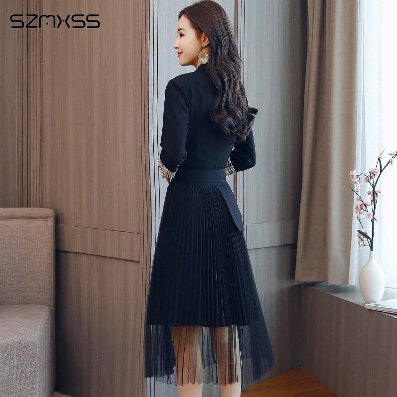 women dresses simple self-cultivation wild trend dress  1
