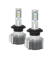 2Pcs Super Bright H4 Bulb 72W 8000Lm Car Led Headlight Canbus H1 H3 H7 H8 H9