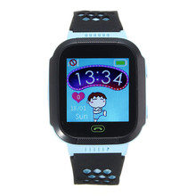 Anti-lost Tracker Smartwatch GPS Watch Kids Children SOS Call Location Safe Remote Monitor Smart Wristwatch For Android IOS