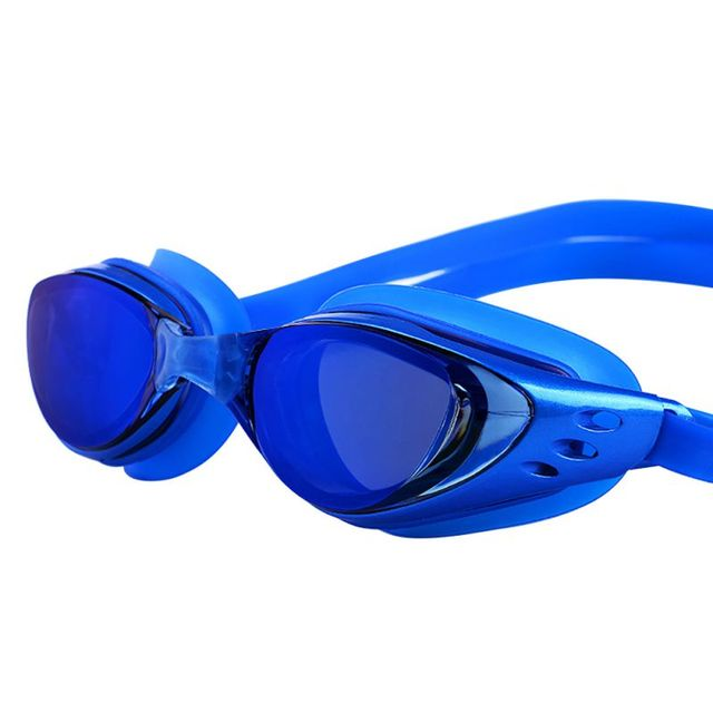 Professional Colored Lenses Diving Swimming Glasses Anti Fog UV Protection Swim goggles