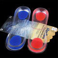Thin Gel Heel Pad Insert Relieve Pain Correction Shoe Insert HSF38